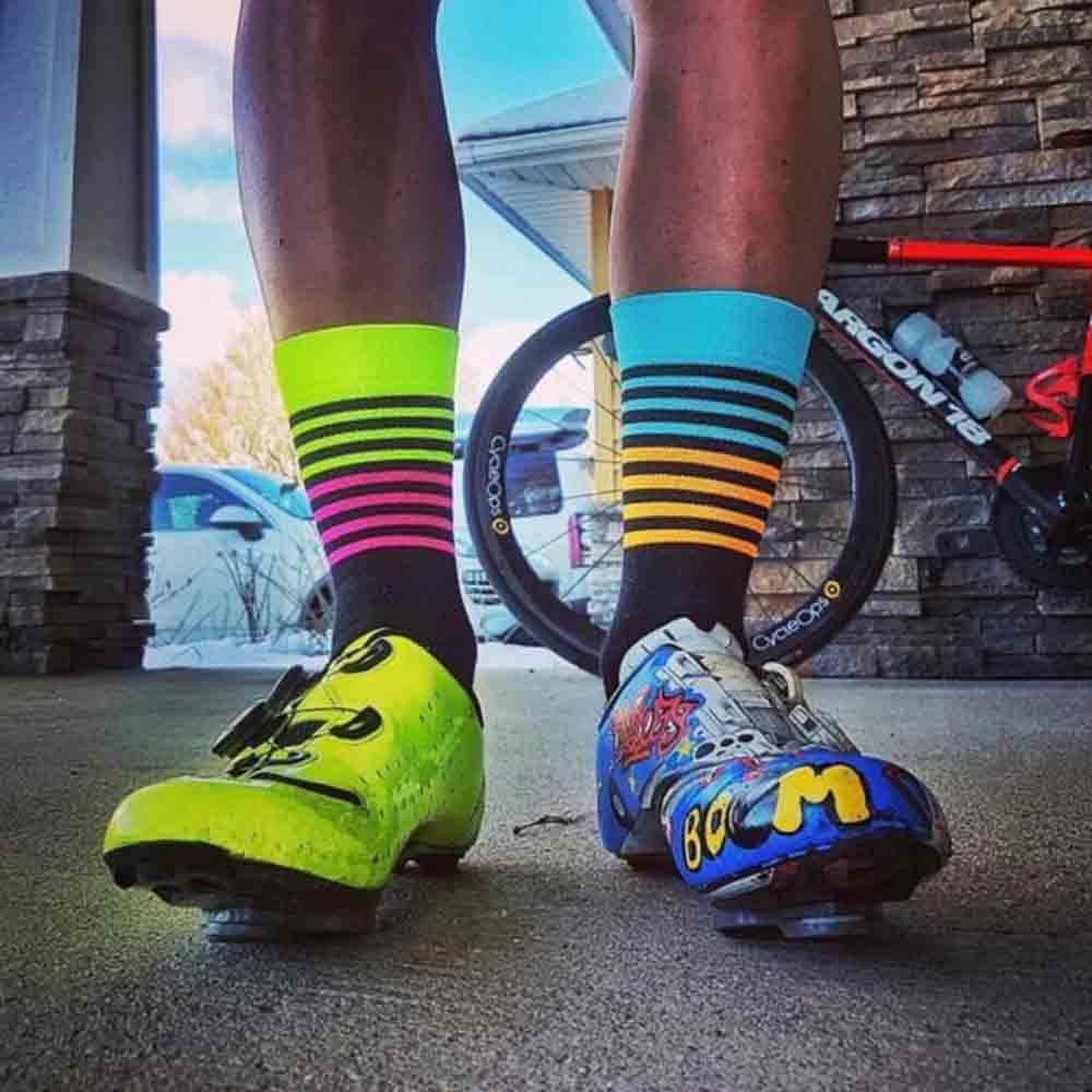 quick dry wholesale bicycle bike sports socks cycling