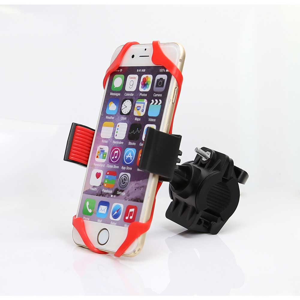 silicone bicycle cell phone mount holder for bike