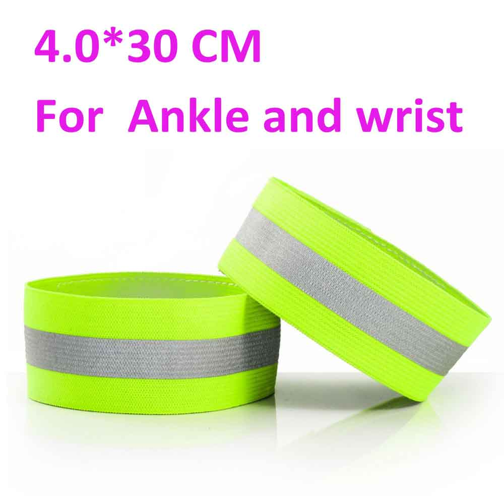 night running cycling sports ankle wrist reflective strap band