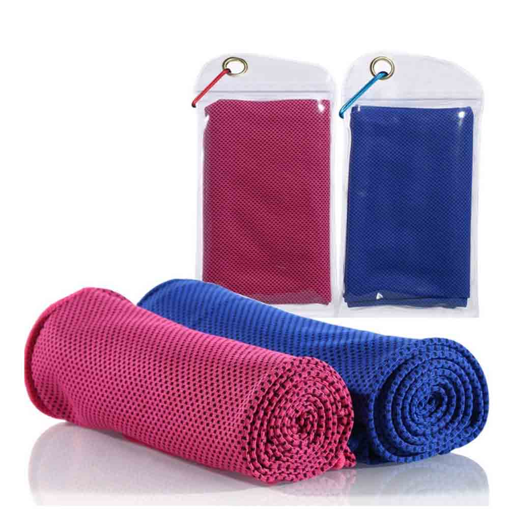 wholesale microfiber ice cooling towel for sports